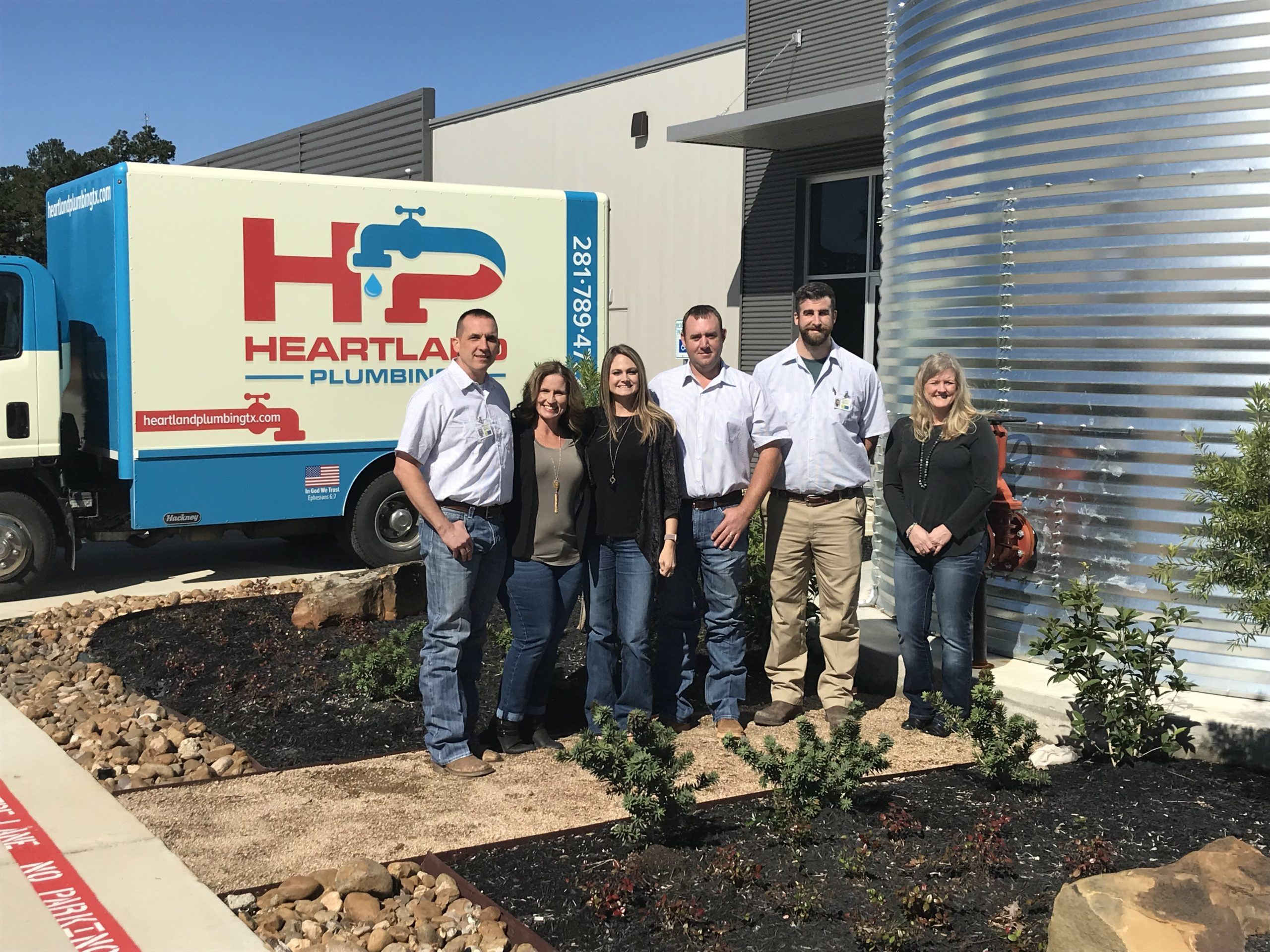 Heartland Plumbing Magnolia TX Group Photo