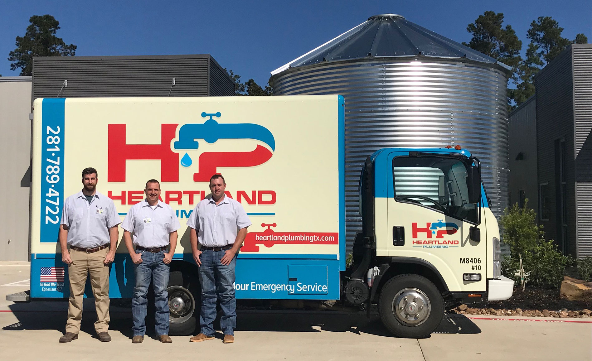 heartland plumbing group photo